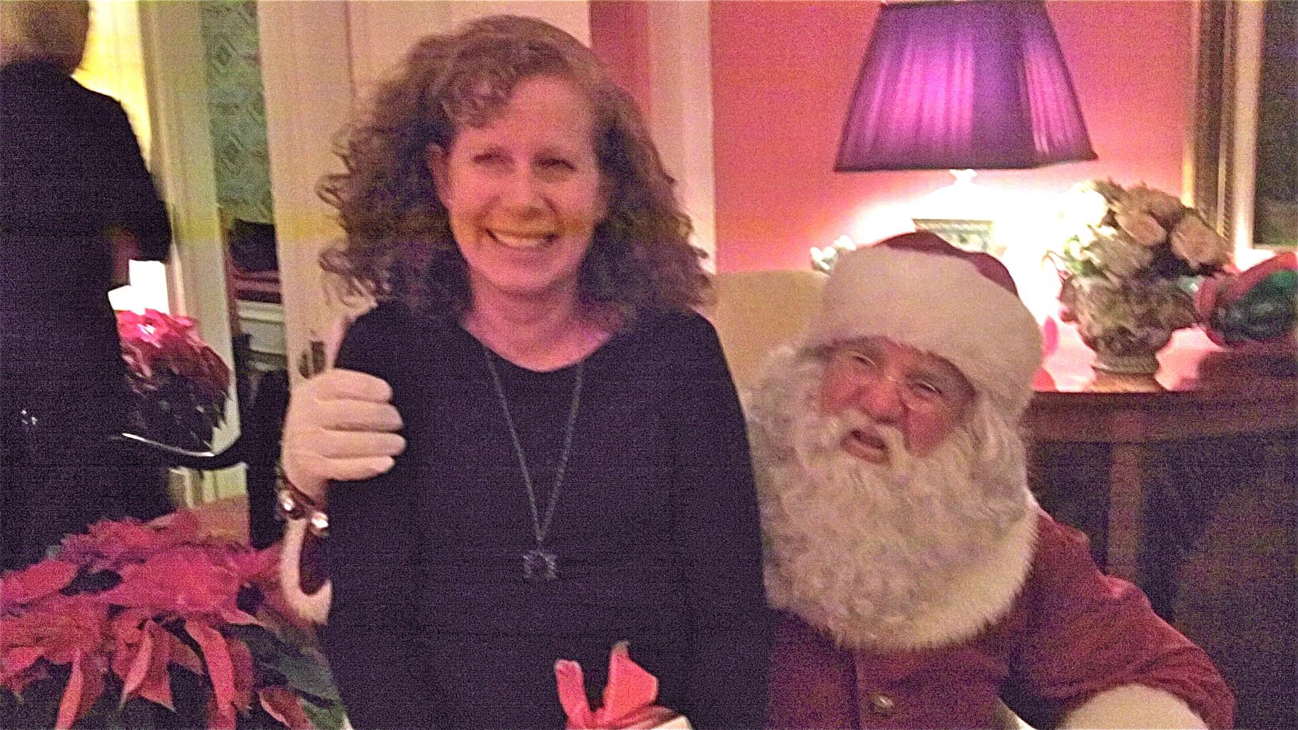 Julie Kagel & Santa