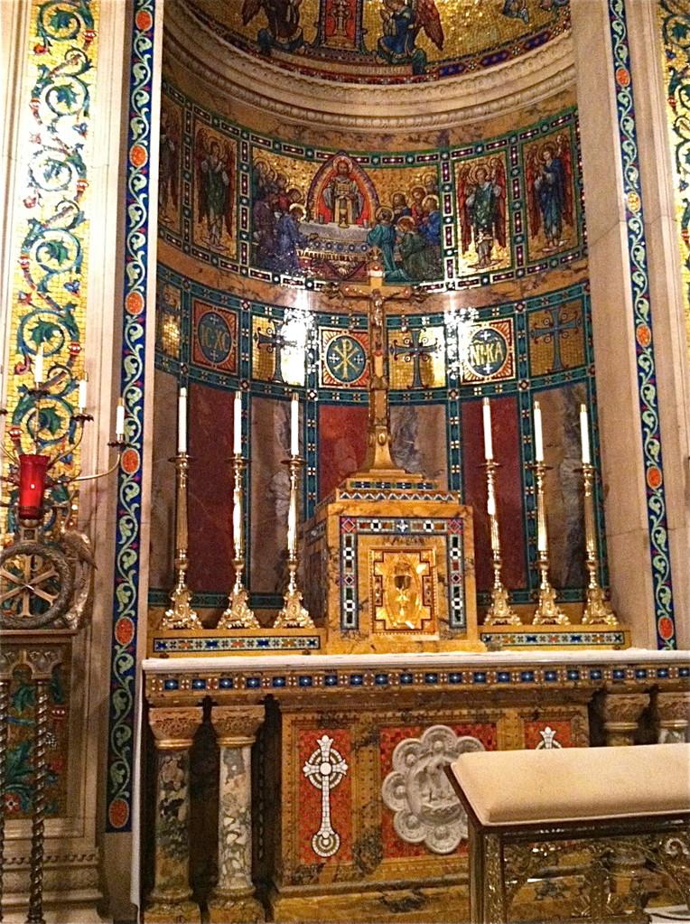 42 million ceramic tiles, stunning interior