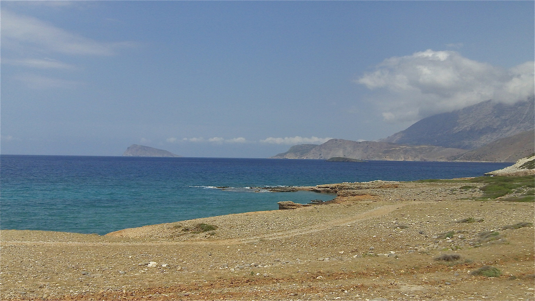 Beach near Gournia, Crete