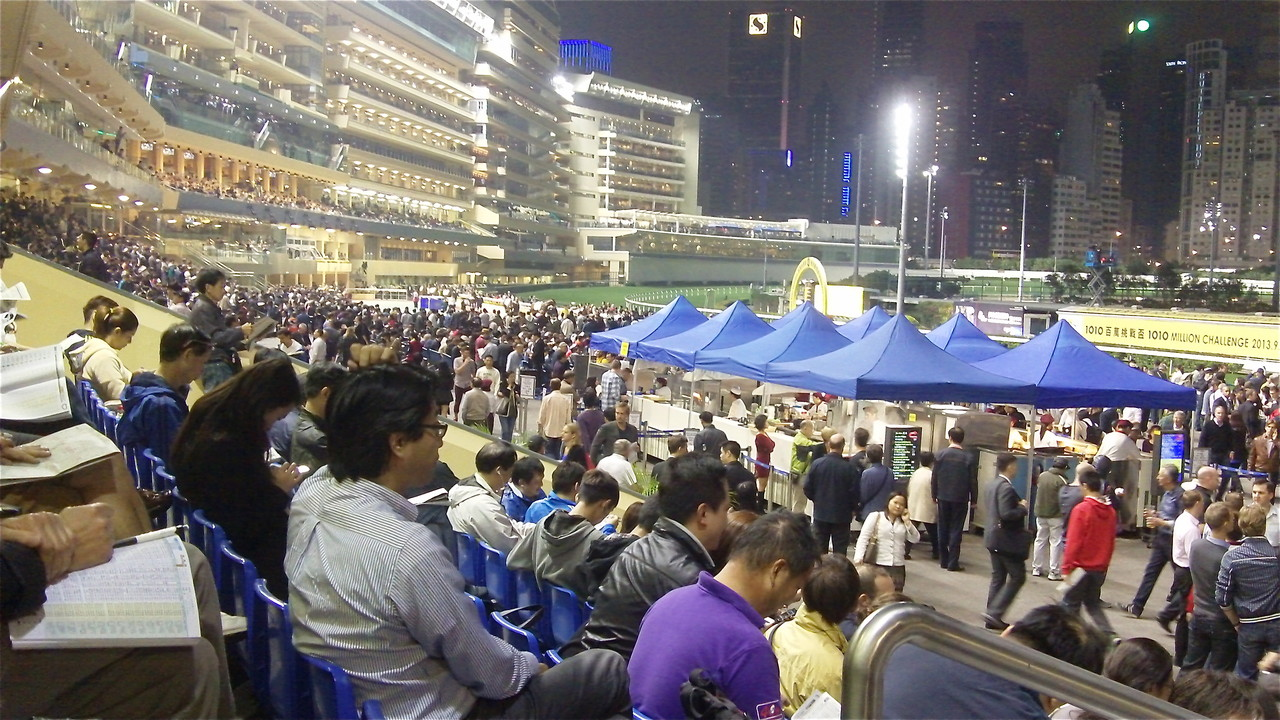Happy Valley Race Track, HK
