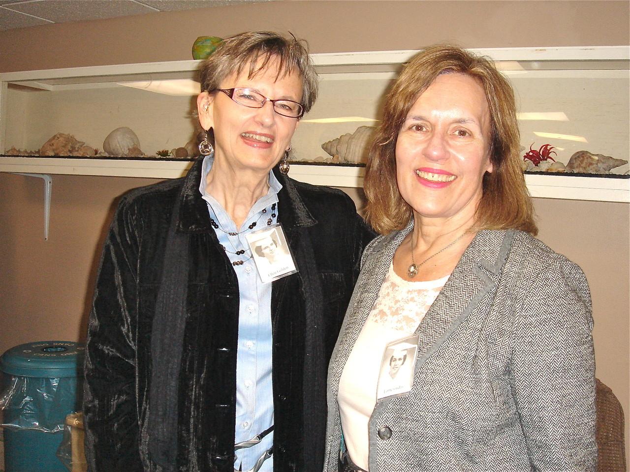 Ellen Golden & Lorraine (Lorrie) Gudas, Oct. 6, 2012