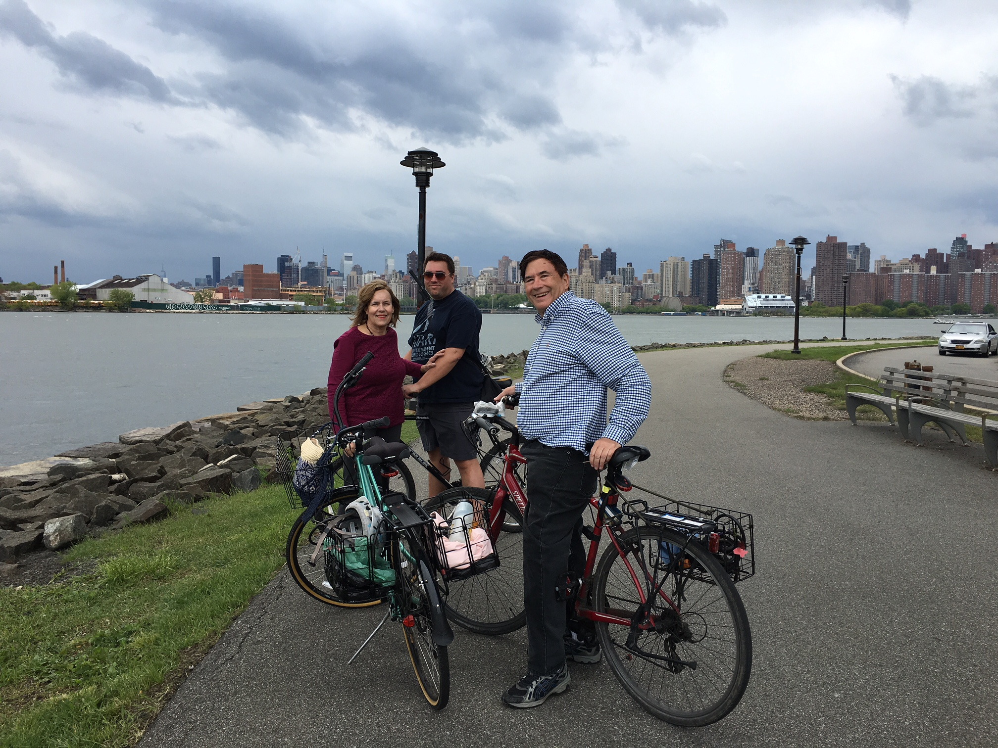 Lorraine, Greg & John, Mother's Day, May 14, 2017