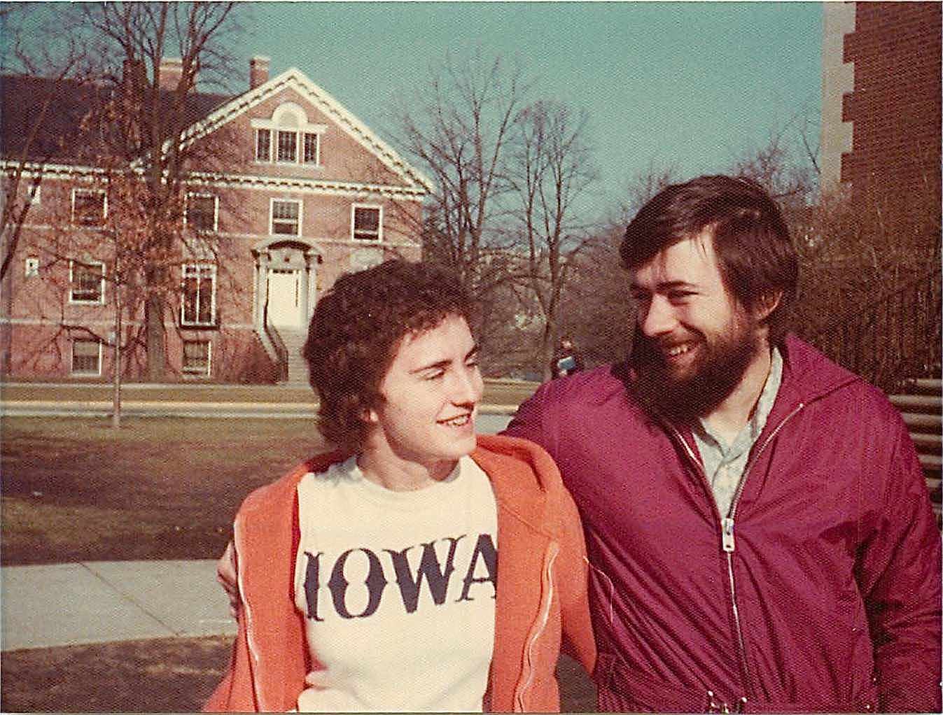 Ann & John Wagner, Iowa State, April 1975