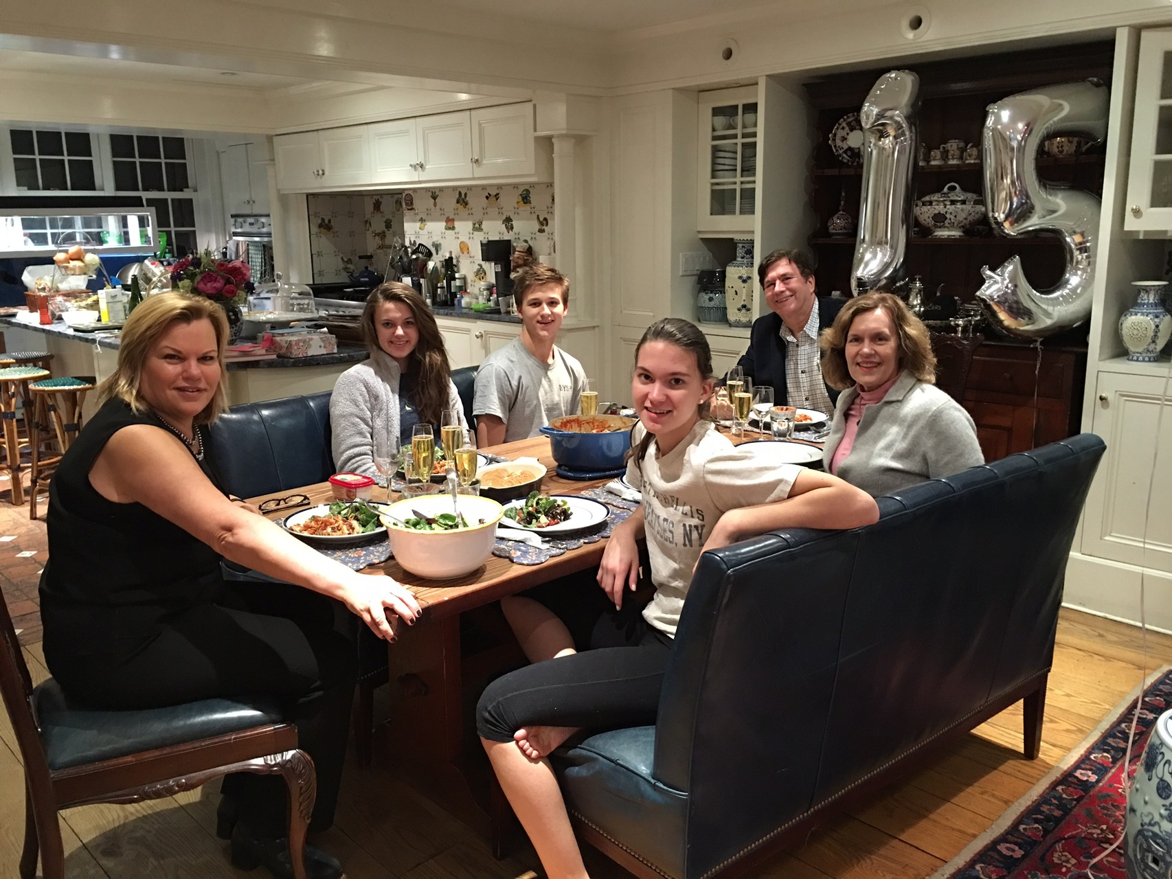 Celeste, Ellie, Jack, John, Lorraine, Kate  Birthdays 2-25-16