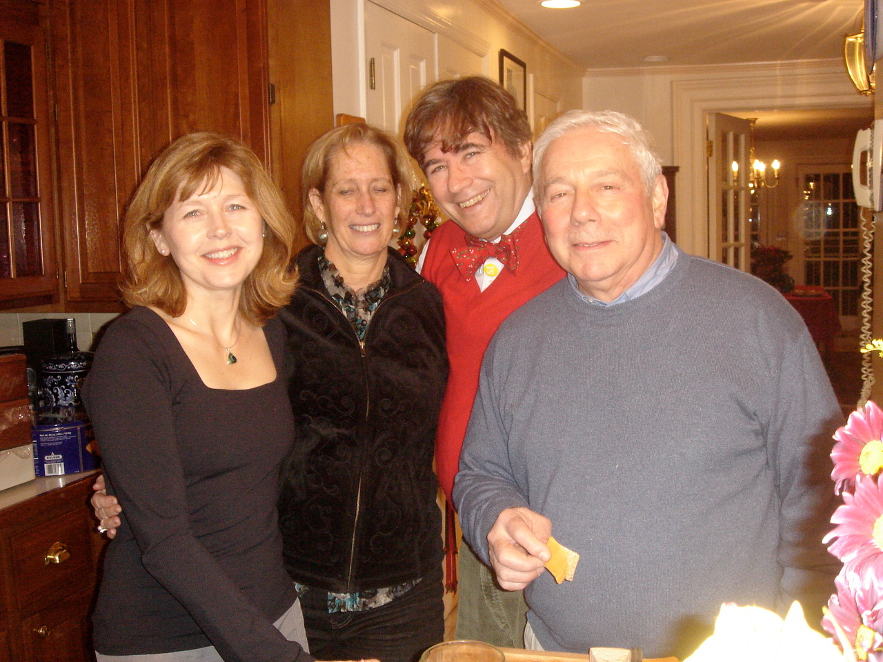 Barbara,Leslie (friend from California), John, & Don at our home, 2011