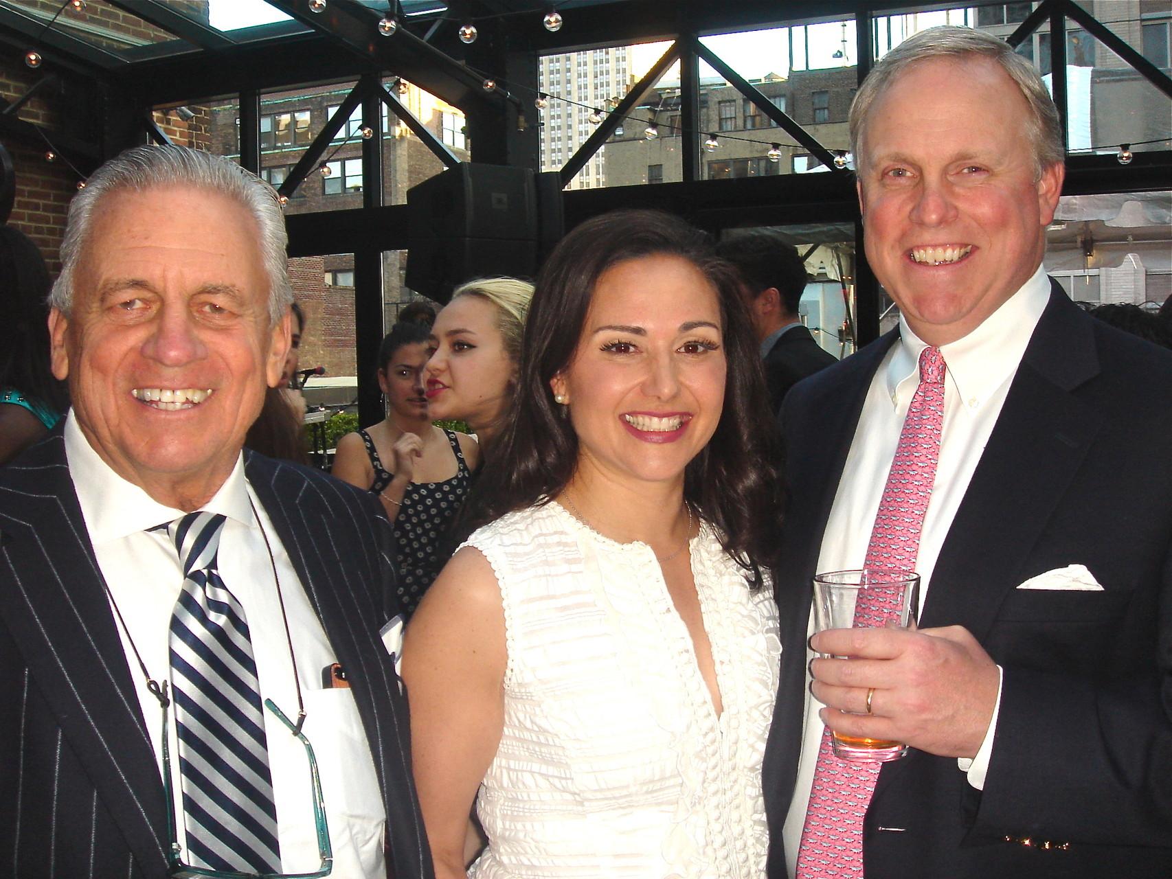 Stuart Sr., Allie, and Stuart Kagel Jr.