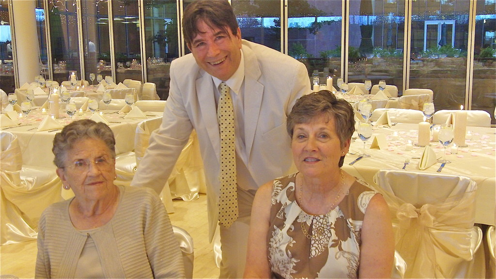 Mary Lou, John, and Cindy Wagner