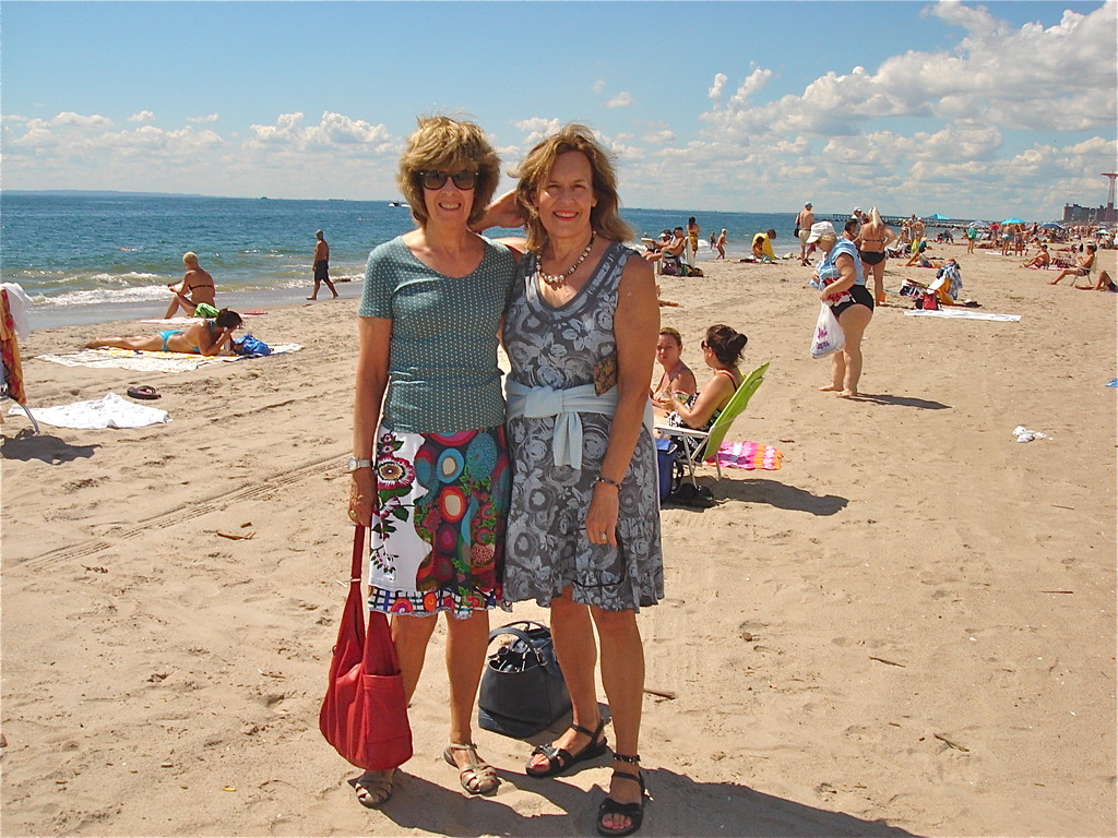 Nancy & Lorraine, Brighton Beach