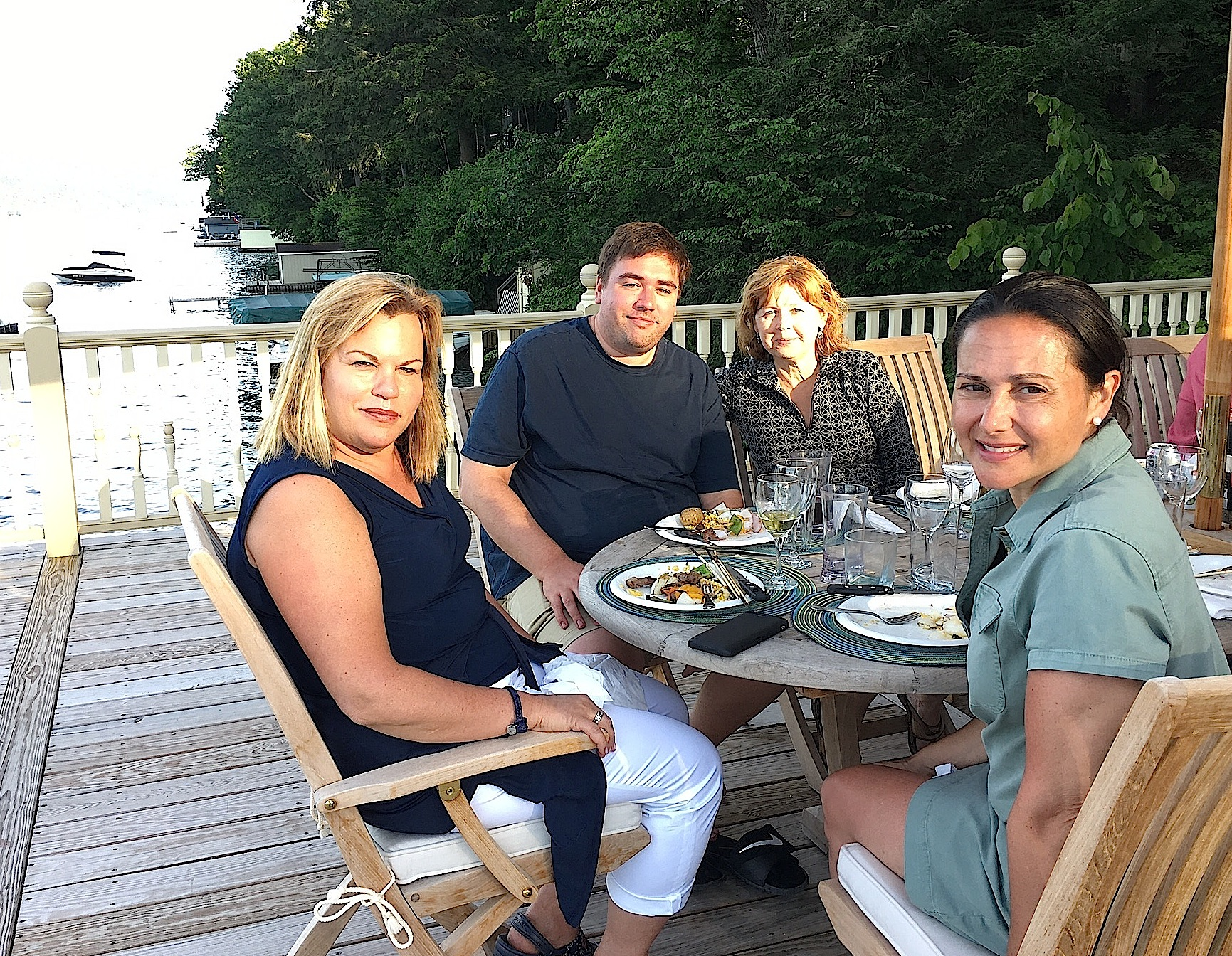Celeste, Greg, Barbara, & Allie  7-7-18