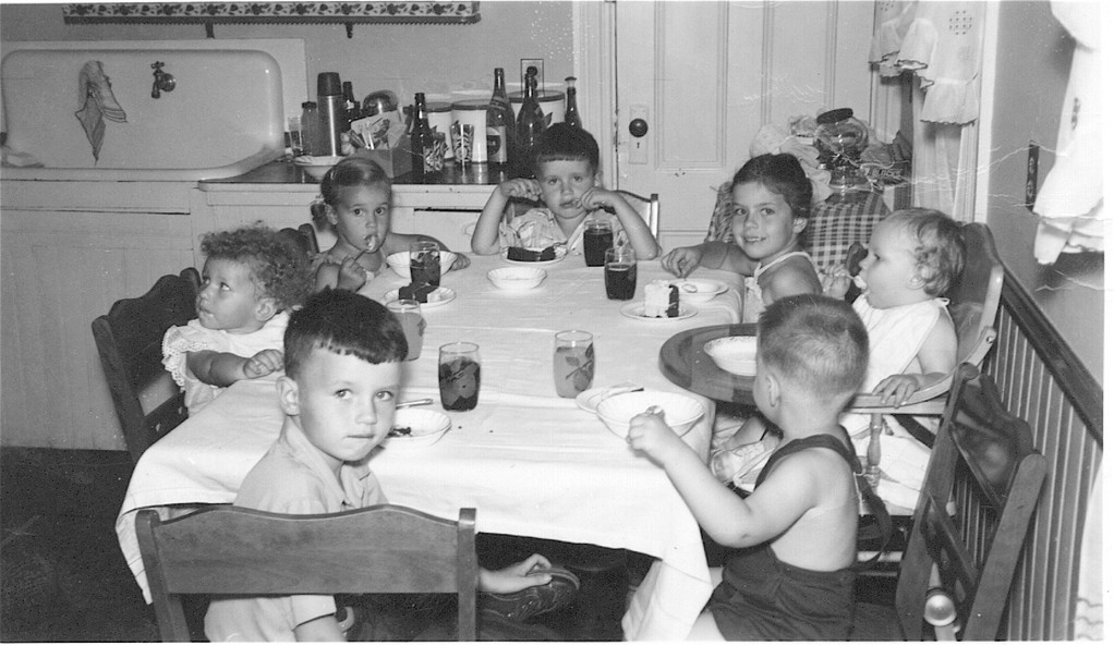 Billy, Margaret Mary, Lorraine, Bobby, Kathy, Patsy, & Mike?   1950s