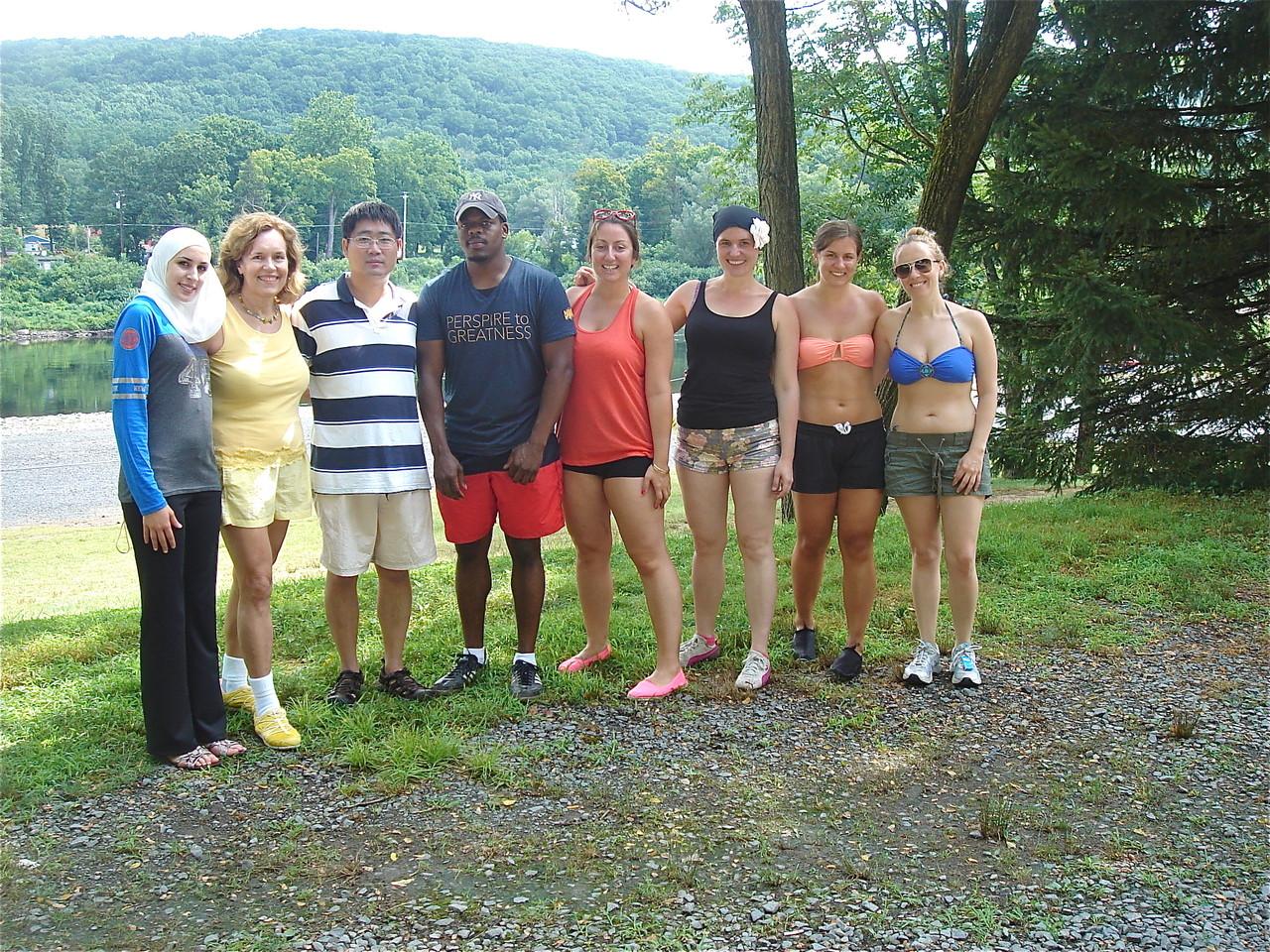 Gudas Lab Trip, July 23, 2013  Kayaking in the Catskills!