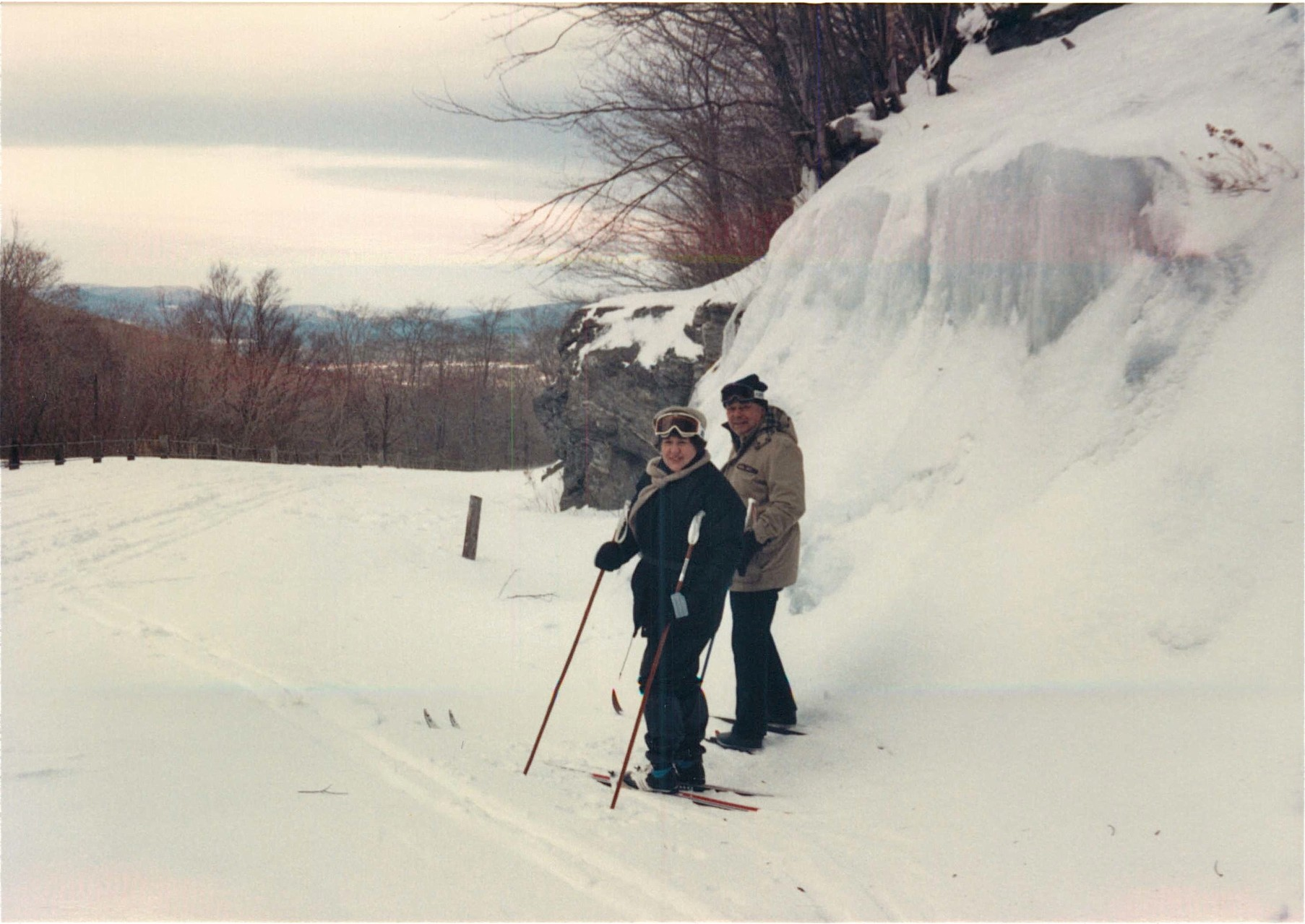 Eleanor & Al Gudas, Smuggler's Notch, Vt