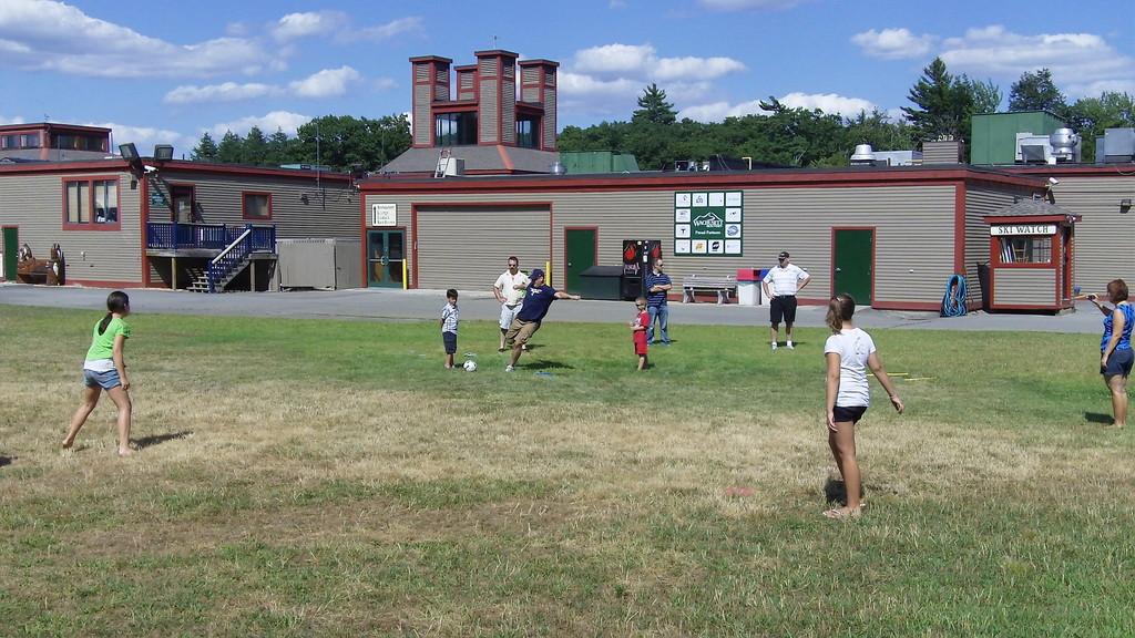 wild kickball game