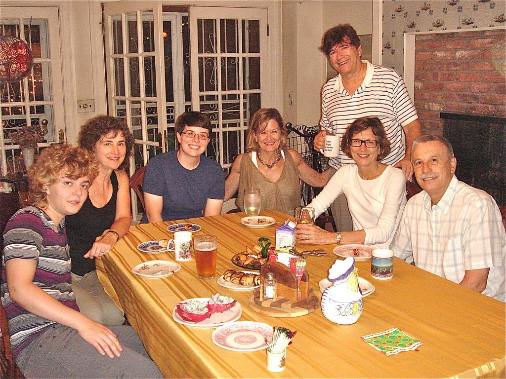 Kathleen, Ann Ackerman,Emilea, Sally, John, Jill, Antonio 7-8-12 NYC