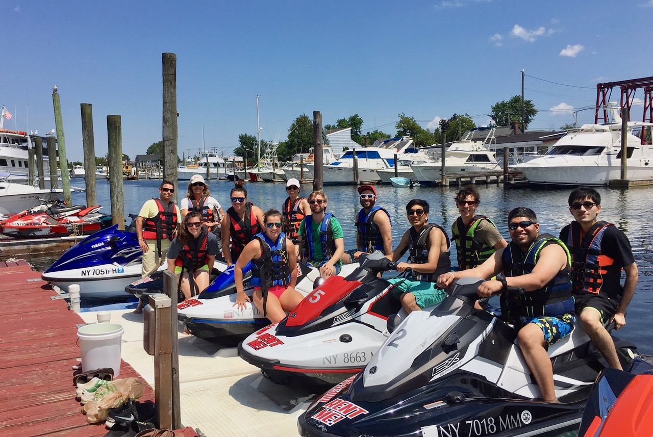 Gudas Lab Trip, Jetskiing near Jones Beach, July 18, 2018