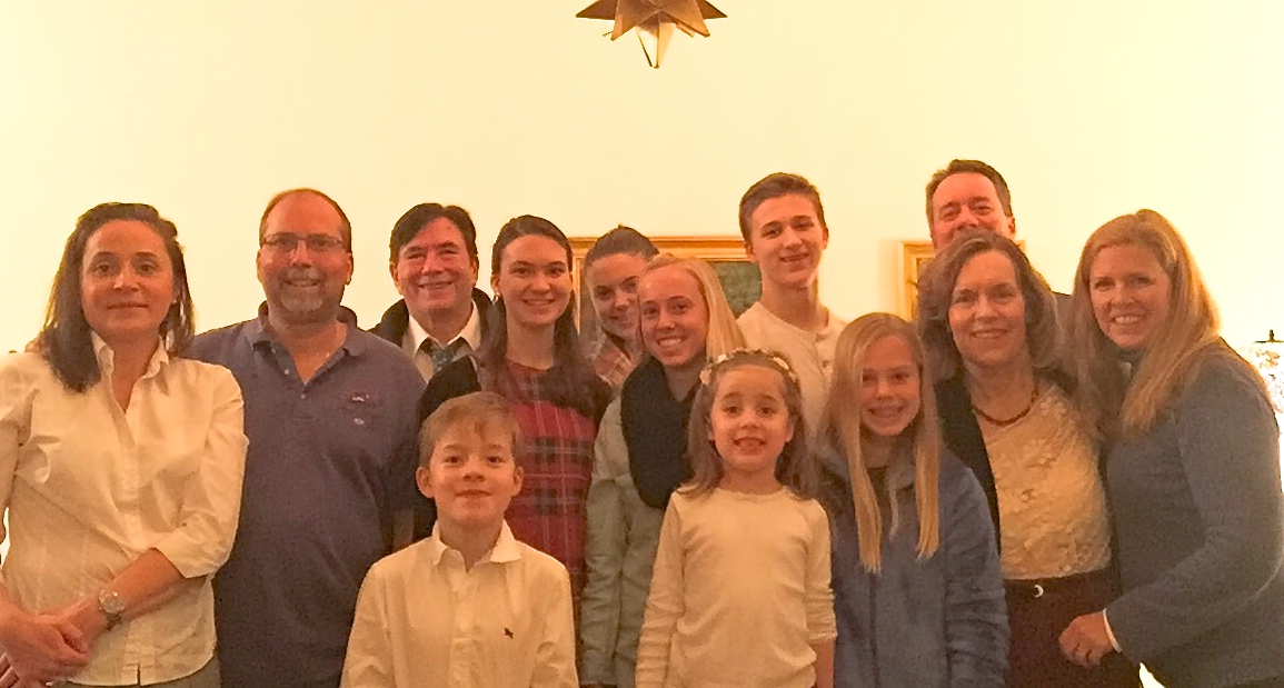 The Srokas, Boylans, & Gudas/Wagner clans Xmas in NYC 2015