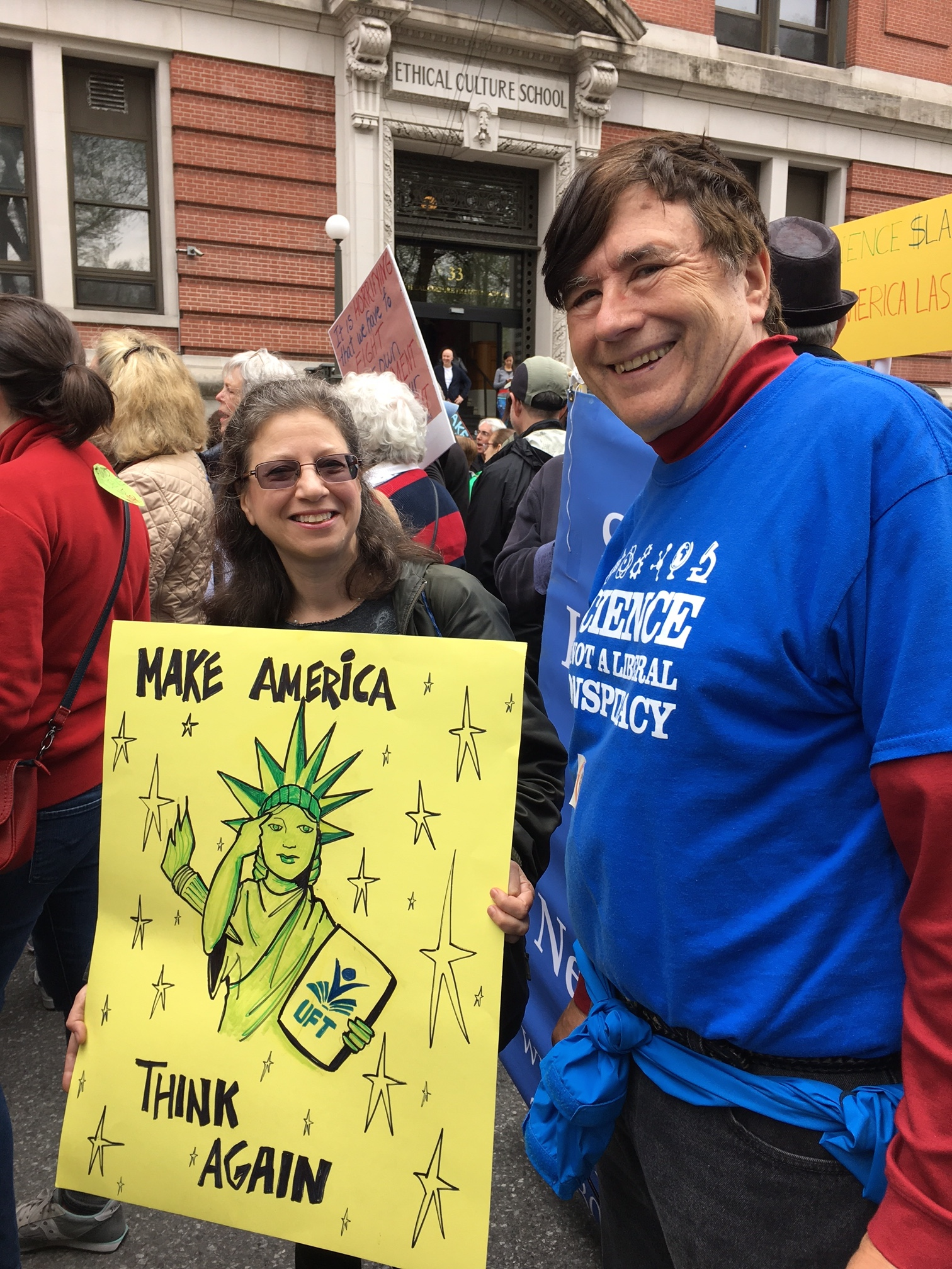 John Wagner at the March for Science
