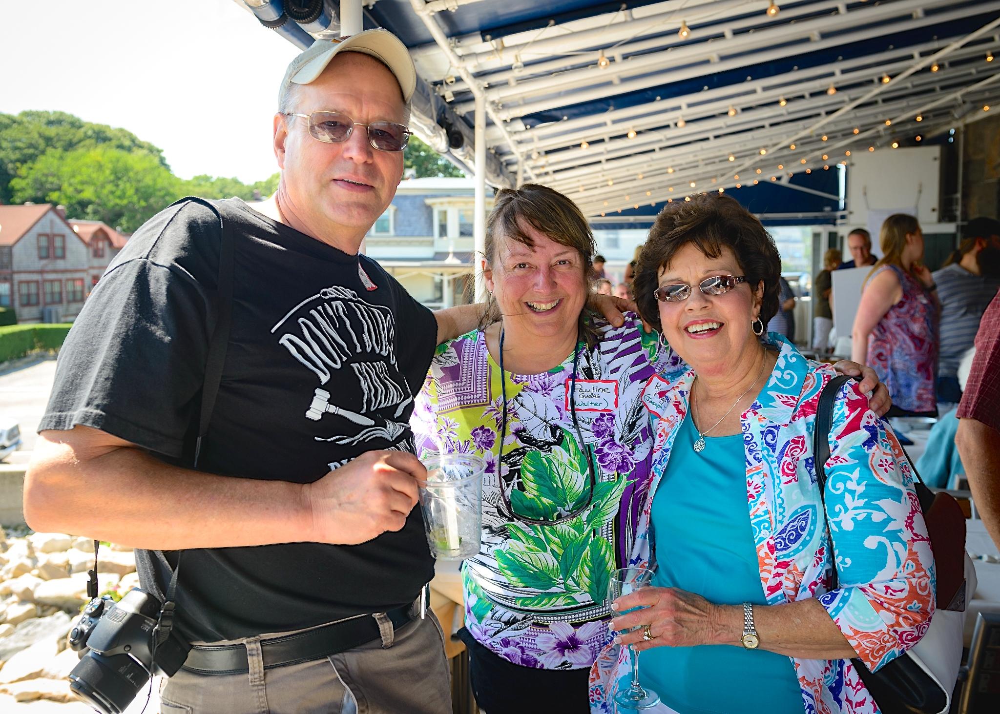 David (Walt's son), Pauline, & Kathy