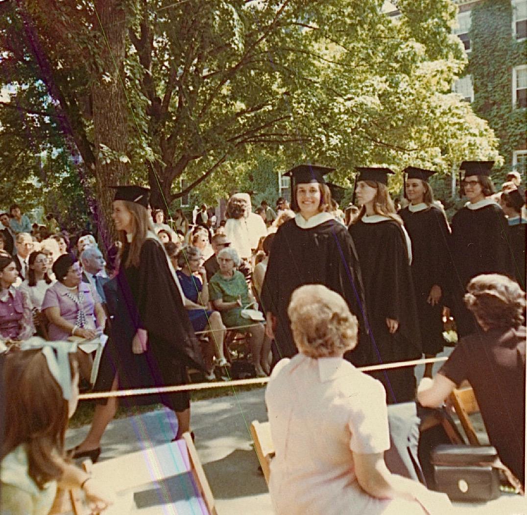 Lorraine Gudas, Graduation from Smith College