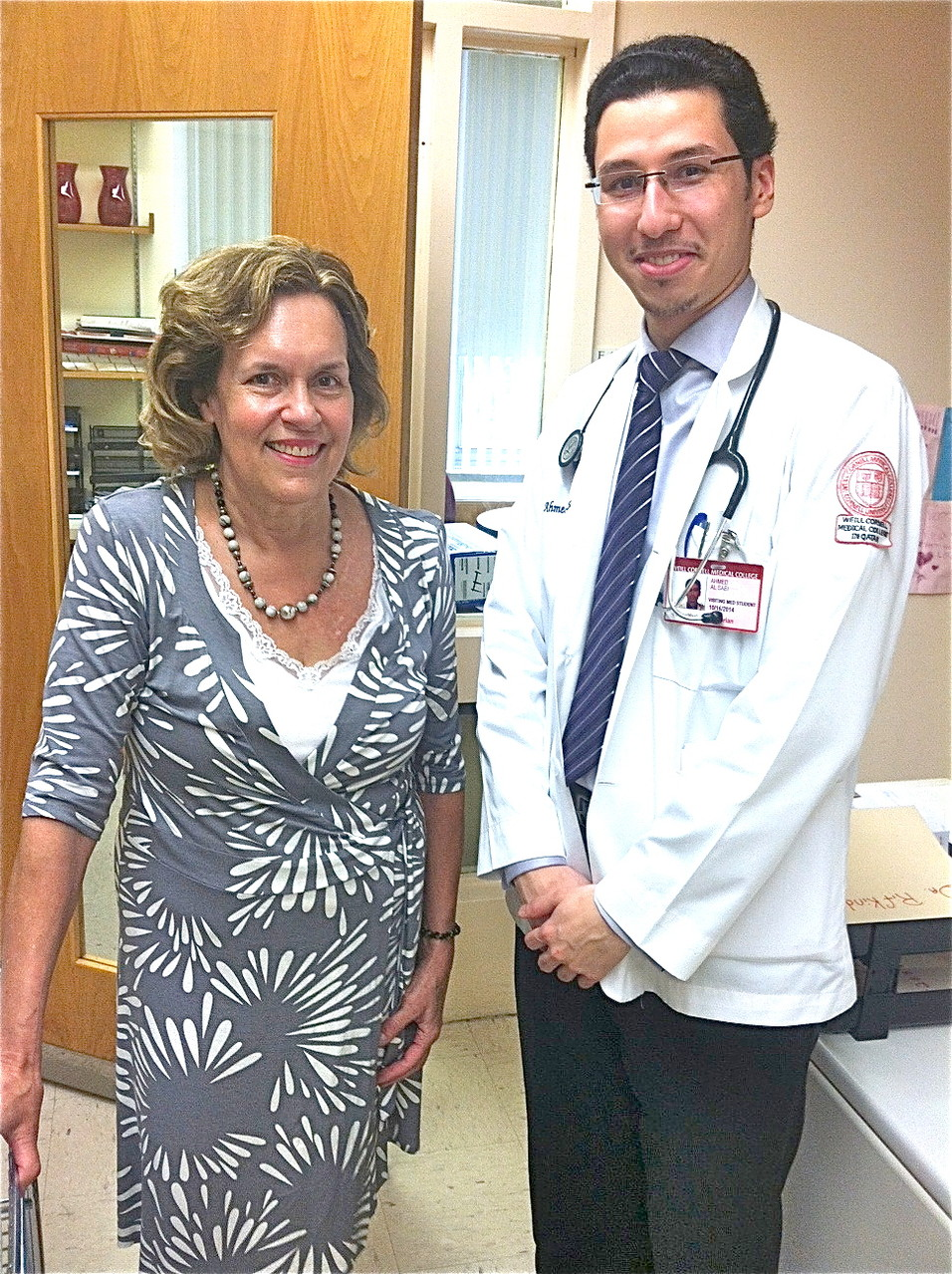 Lorraine & Ahmed Al-Saei  July 2014