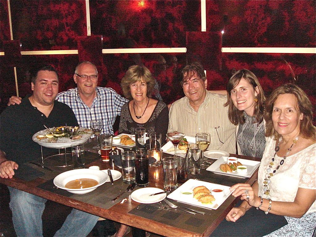 Gregory Wagner, Bernd, Nancy, John, Anna Groner, Lorraine