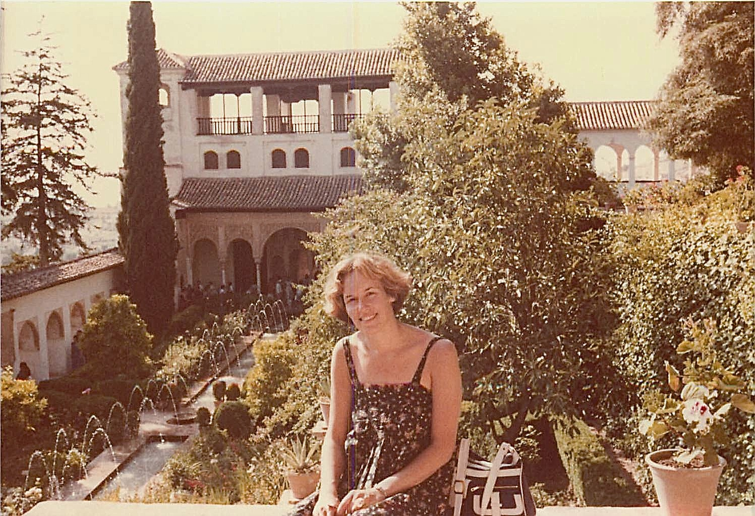 Lorraine, Granada, Spain 1979, Generalife summer palace, near the Alhambra