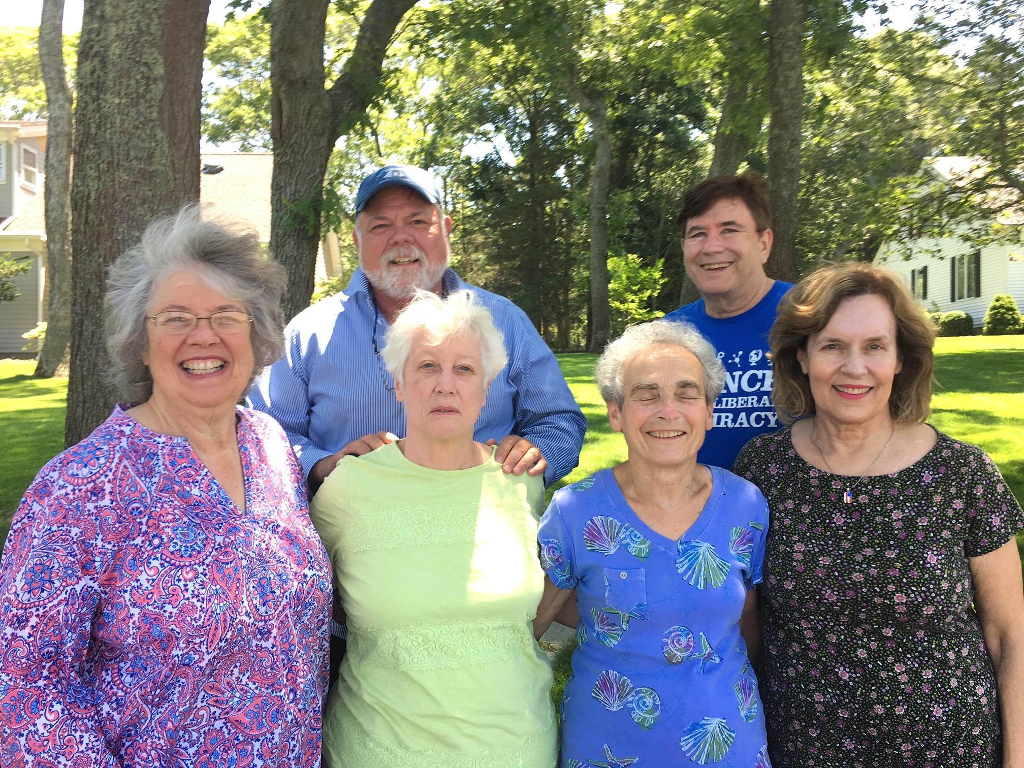 2018:  Betsy, Dave, Chris, Kathy, John, & Lorraine