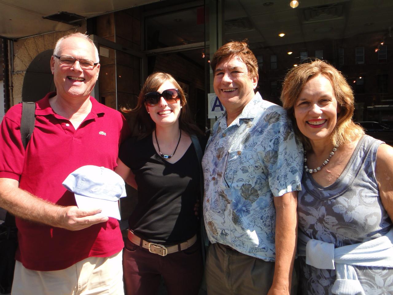 Bernd, Anna, John, & Lorraine