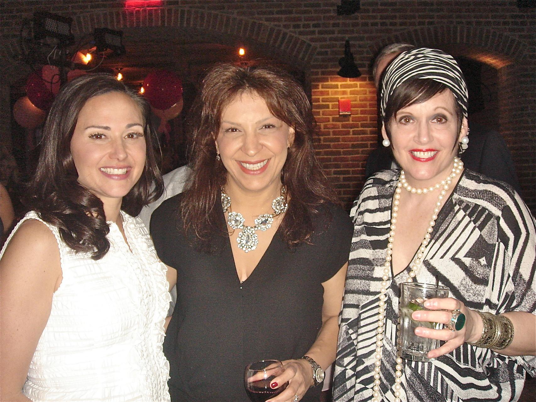 Allie Kagel, Carmelina Pagano, Liz Scheller
