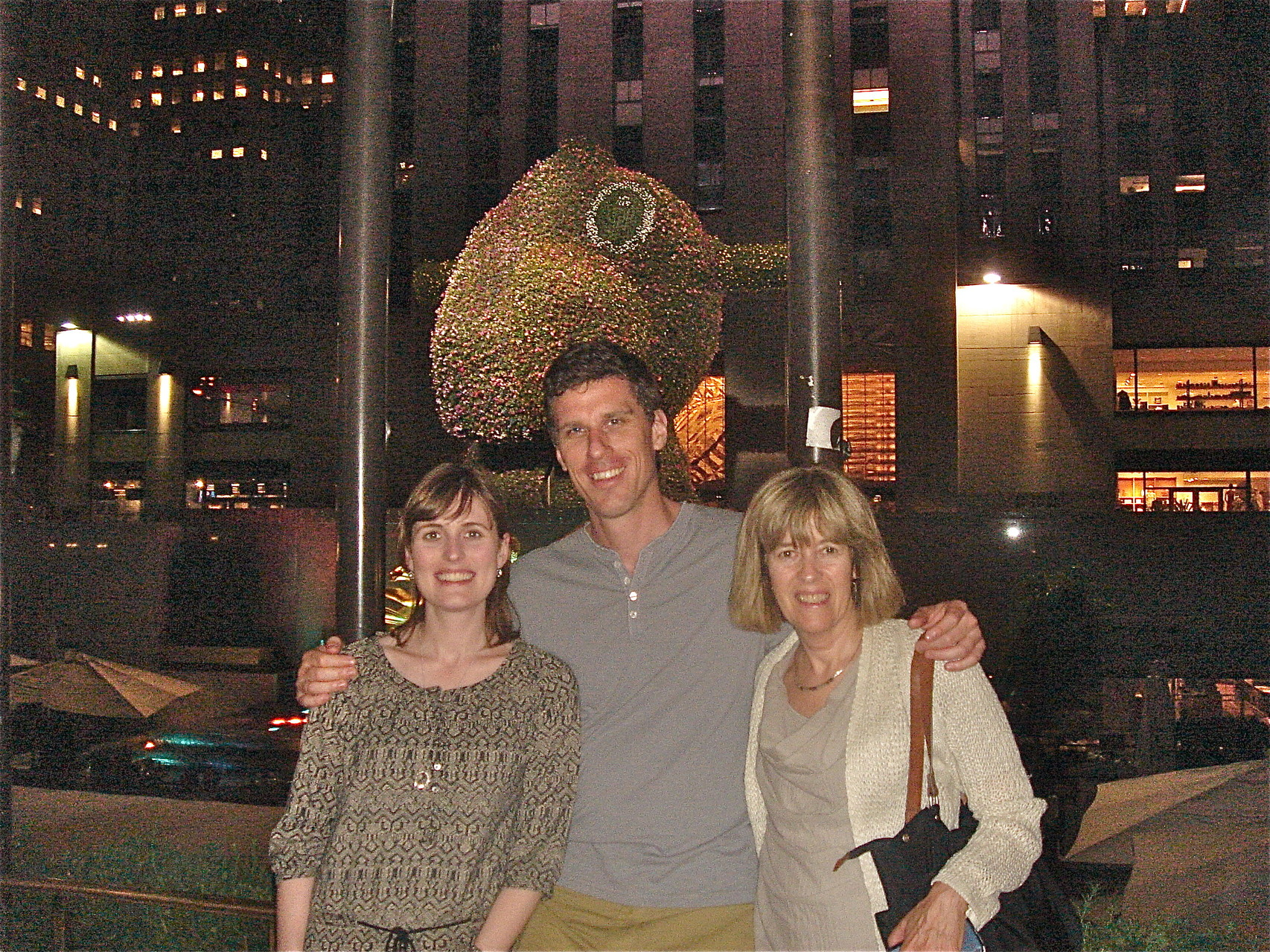 Anna, Patrick, & Nancy at 30 ROCK