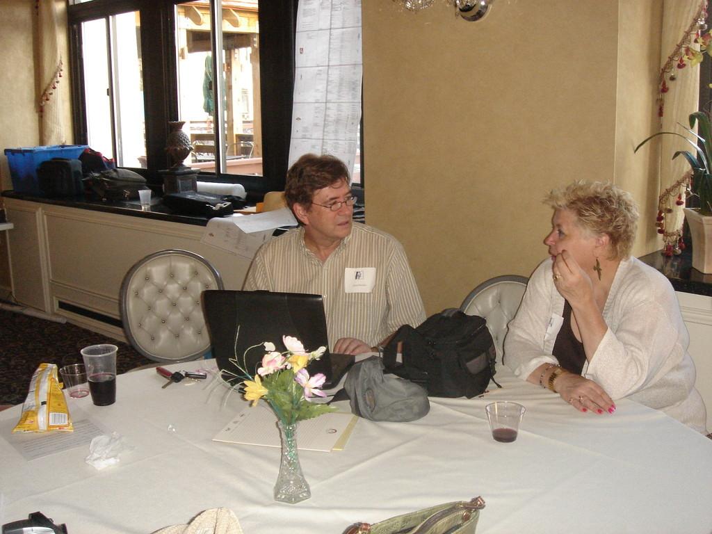 John Wagner, Lorraine's partner, & Paula (Frank's daughter)
