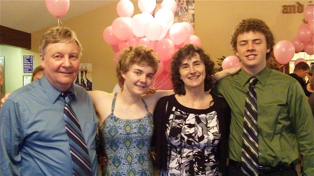 John, Kathleen, Ann, & Ben Ackerman