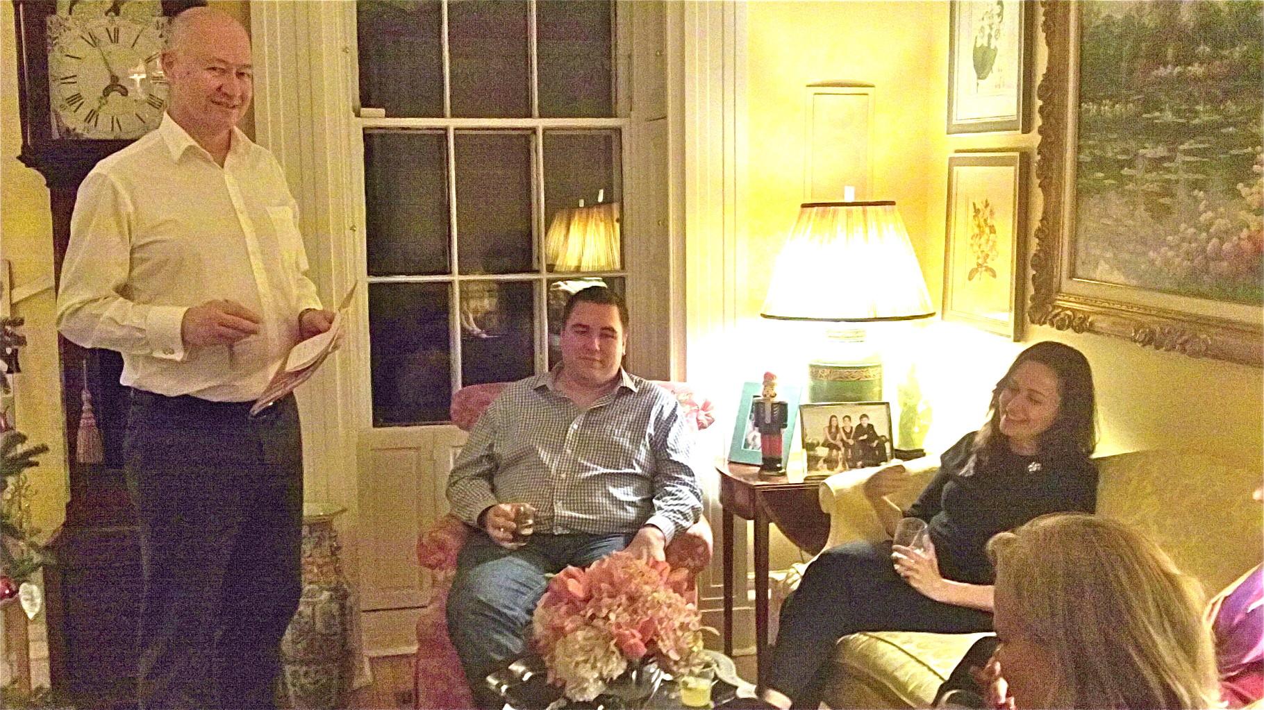 Jack Donohoe, Greg Wagner, & Allie Kagel