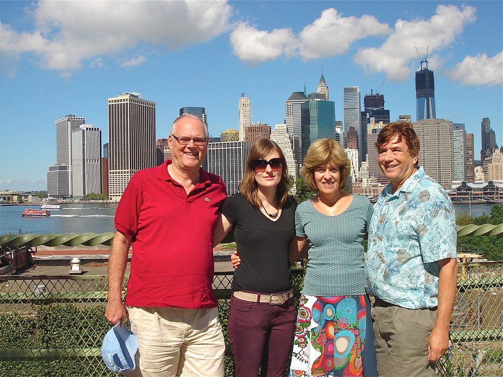 Brooklyn Heights, Bernd, Anna, Nancy, John