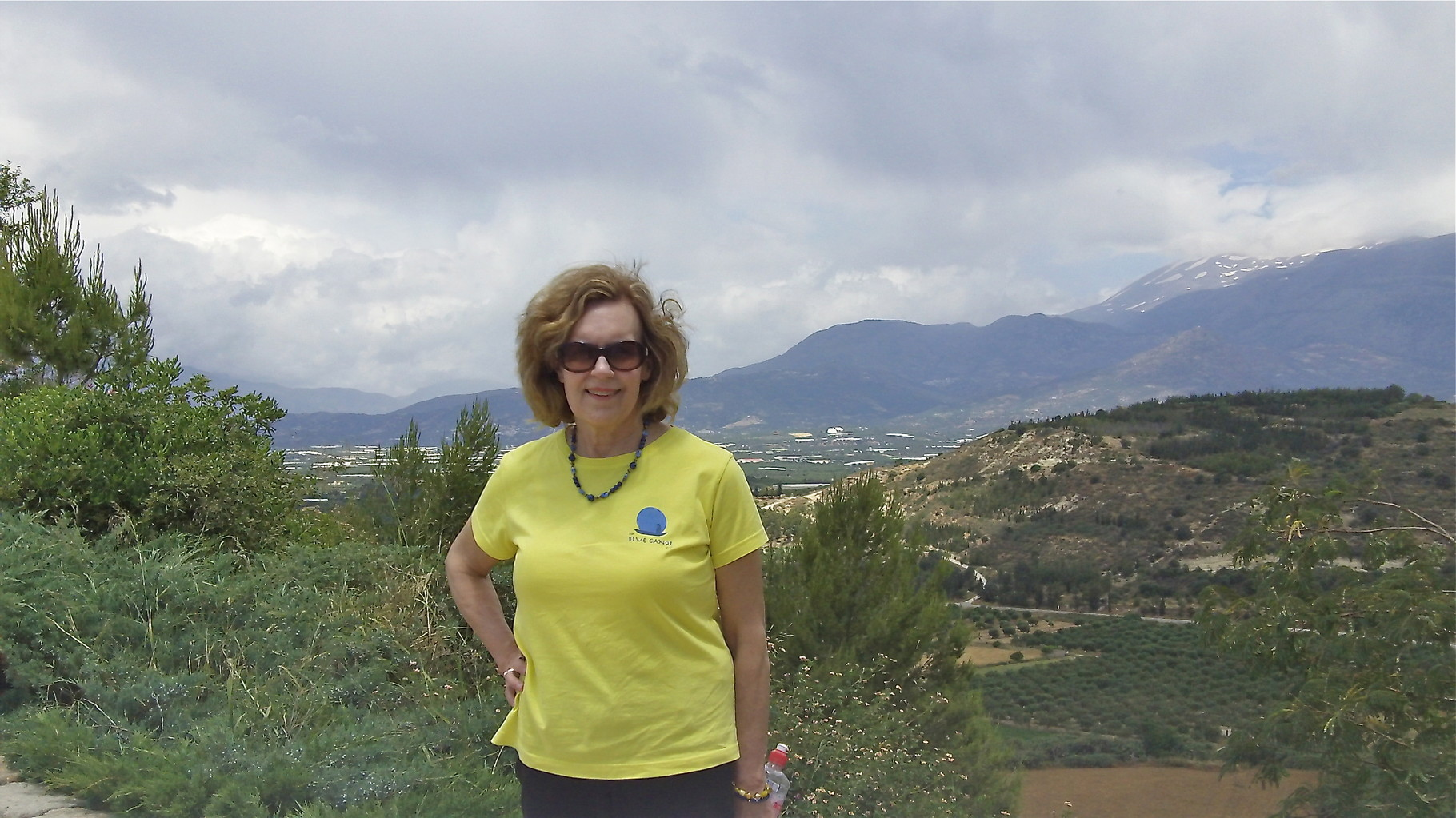 Lorraine at Phaestos, Crete