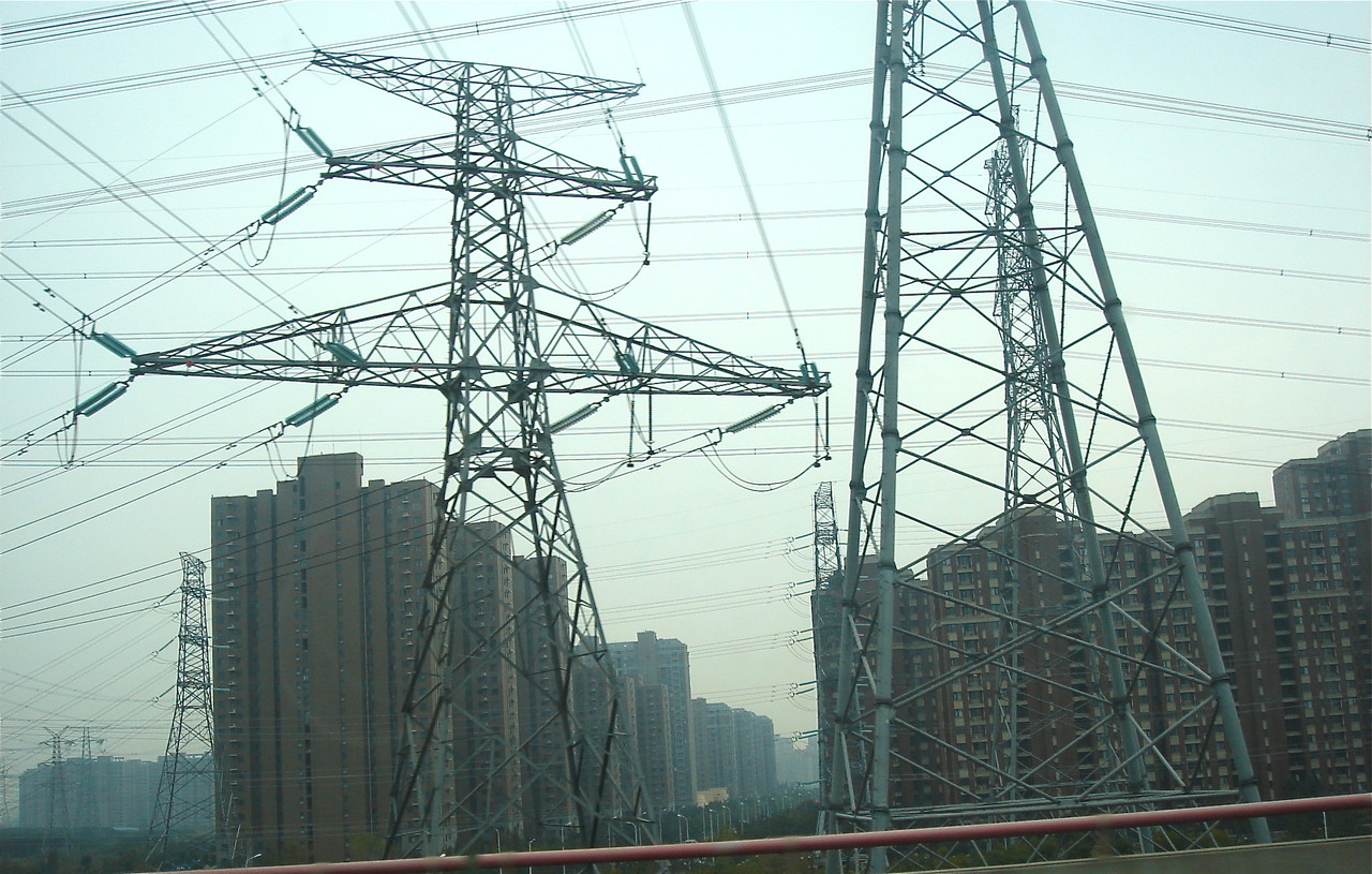 Massive power grid, Shanghai