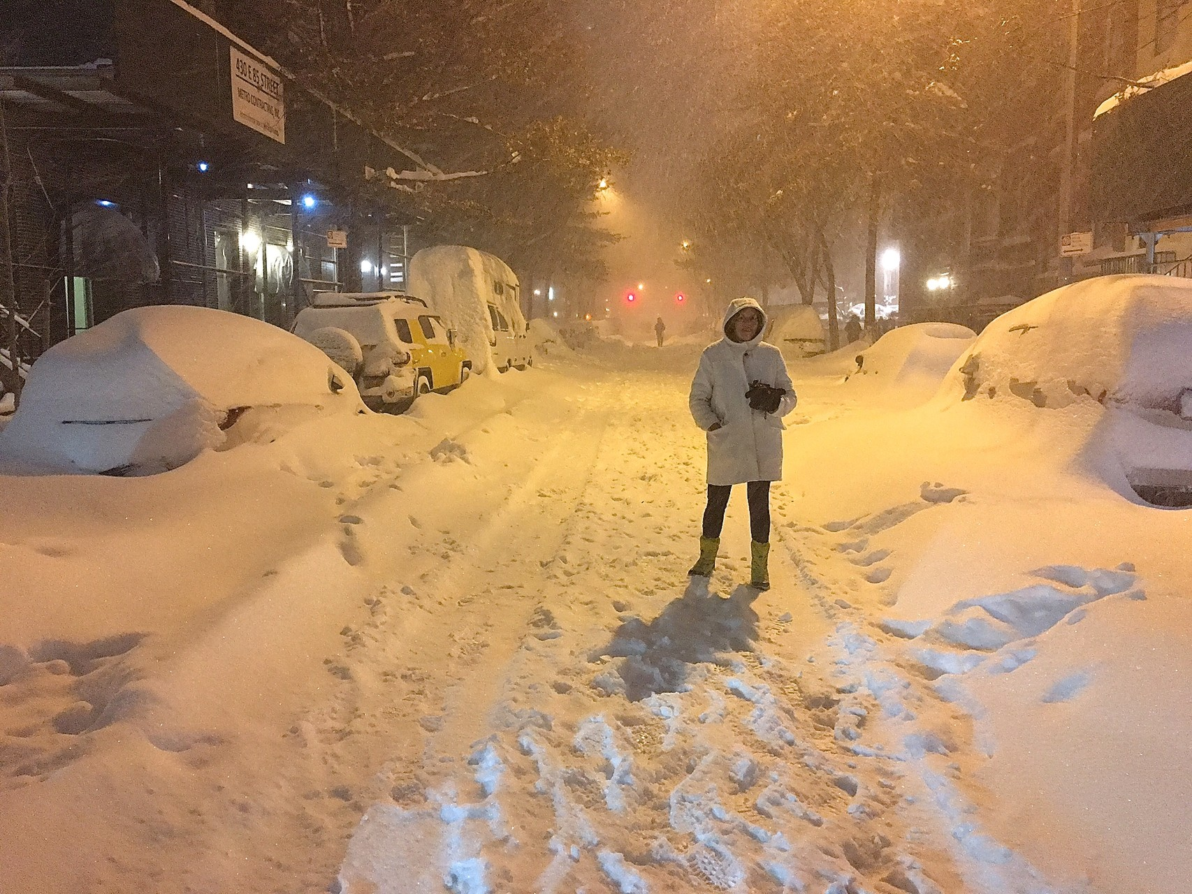 Lorraine on 85th St, Jan 23, 2016