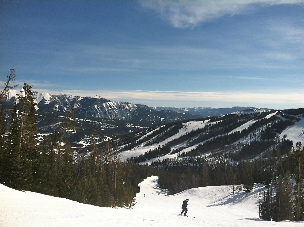 John, Big Sky, Montana, March, 2014