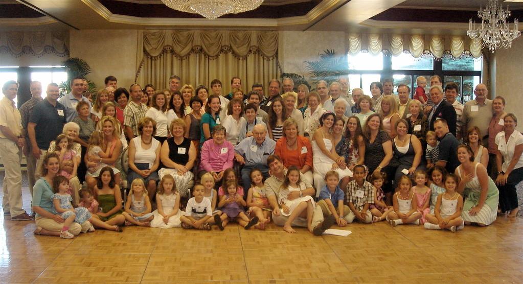Gudas/Gudeczauskas Reunion July, 2007 Newport, RI