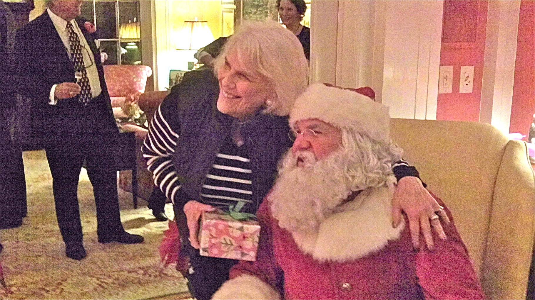 Jane Kagel & Santa