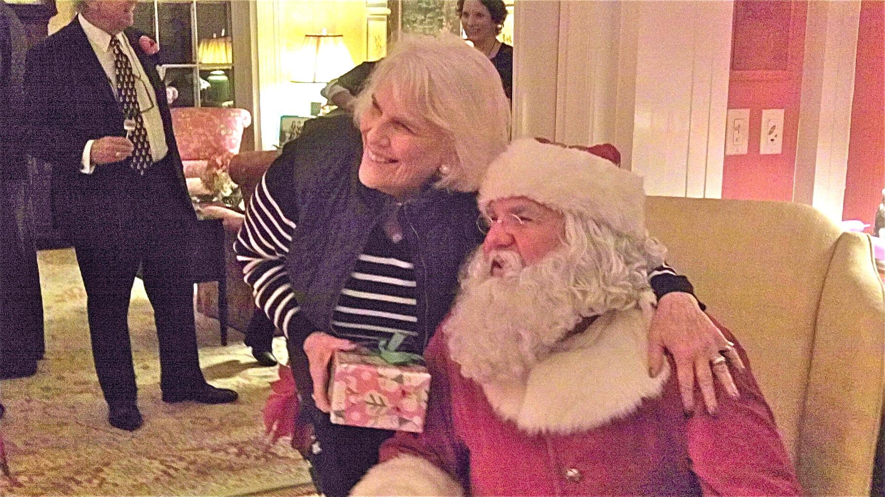 Jane Kagel & Santa