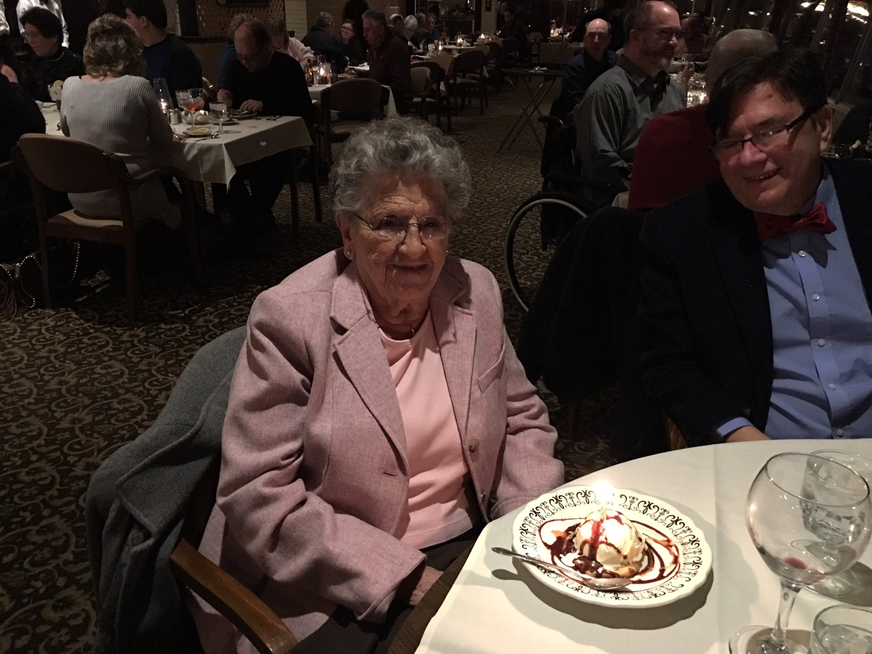 Trip to Dubuque for Mary Lou's Birthday, March 1st 2016   92 years old