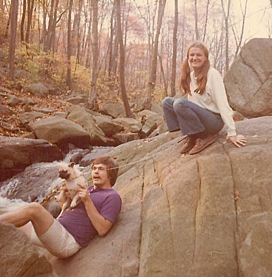 Dave & Dana Mace (Dave was a grad student in Biochem. at Princeton) 1972