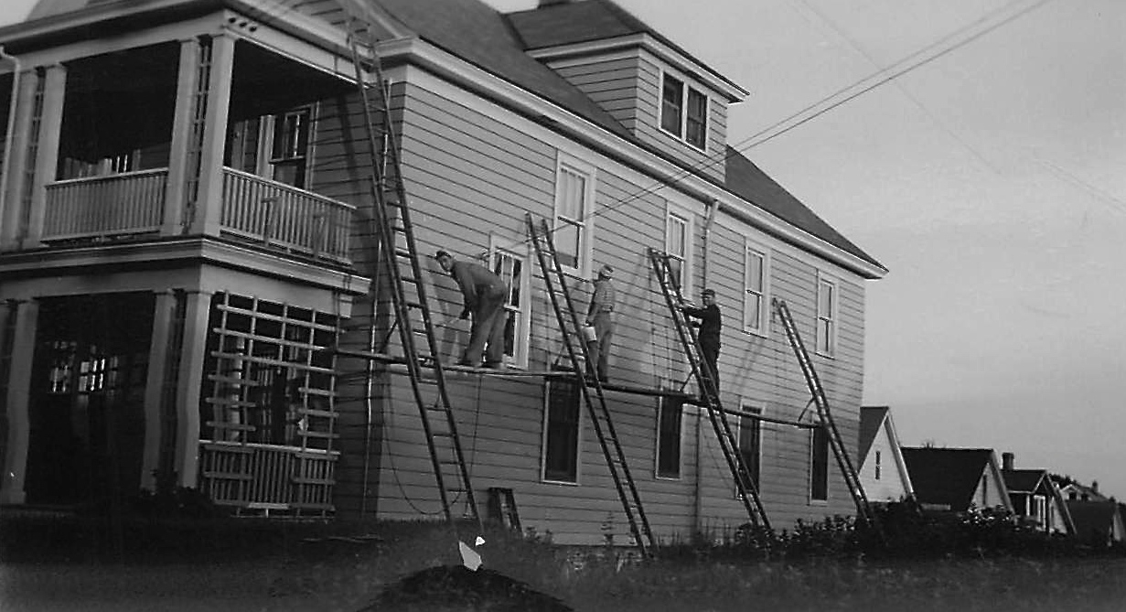 Painting 106/108 Kinne St. not sure of date!