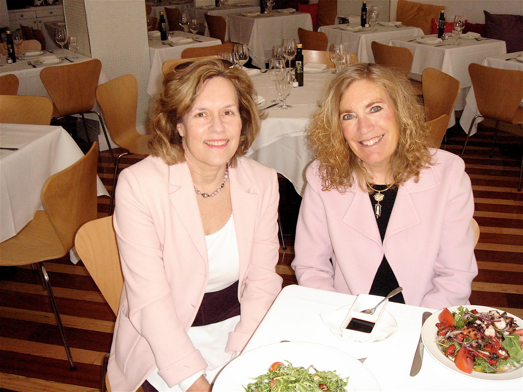 Lorraine Gudas & Elaine Fuchs, Summer, 2011