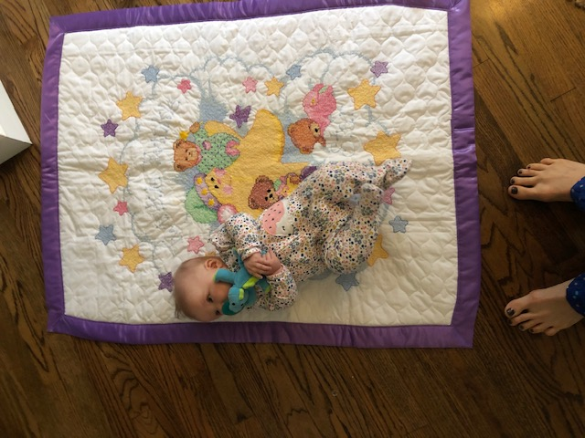 Mary Lou's quilt for Sally's granddaughter, October, 2019