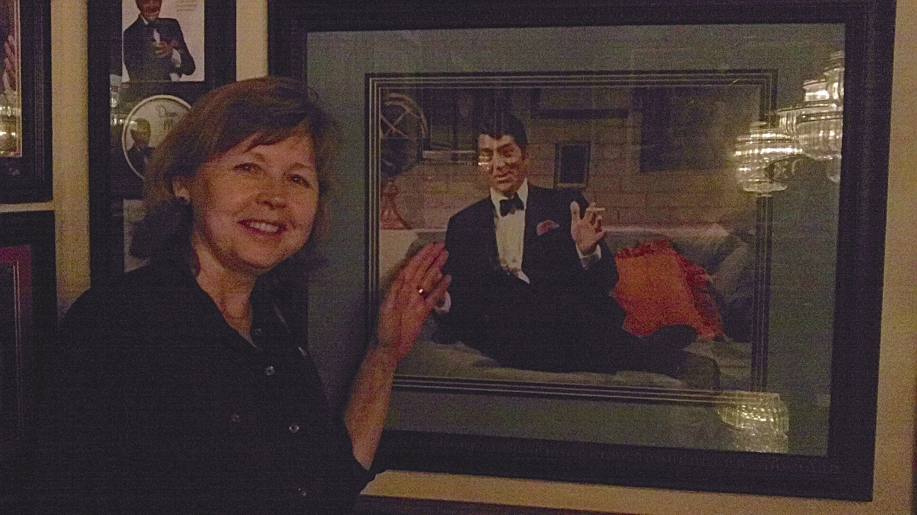 Barbara loves Dean Martin!
