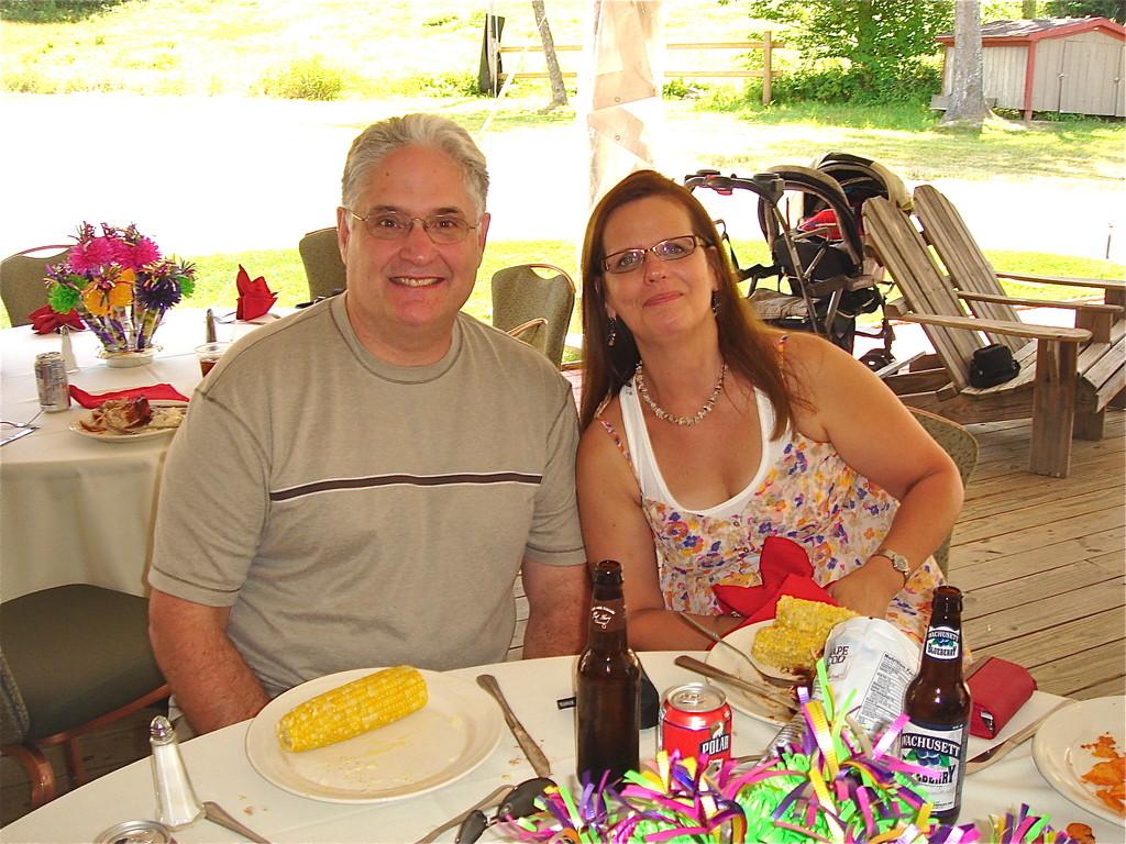 Dave & Carol (Bud's daughter)