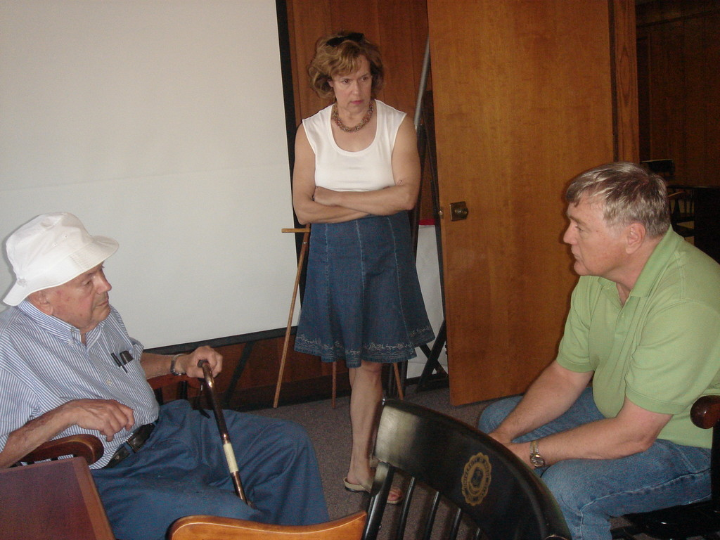 Al, Lorraine, and Dean of Engineering School, July 2007