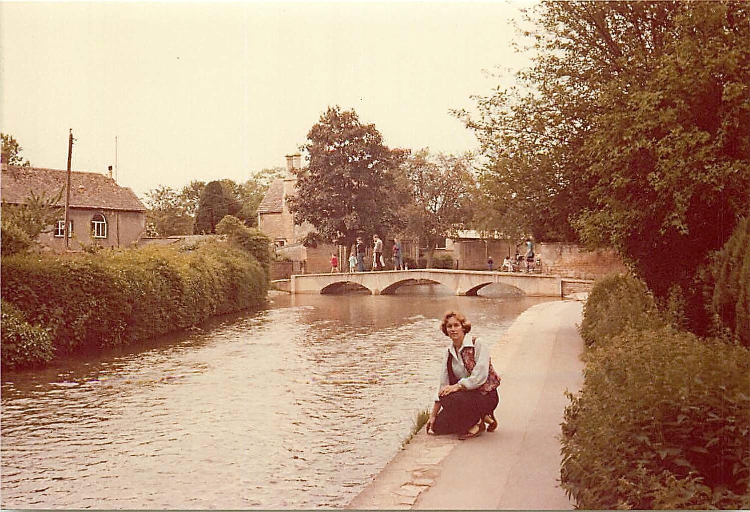 Lorraine Gudas, 1979, Cotswolds, England